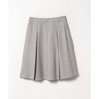 LANVIN COLLECTION / ランバン コレクション ボックスプリーツスカート