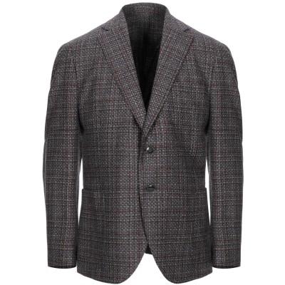 NOBILE テーラードジャケット 鉛色 54 ウール 80% / シルク 16% / カシミヤ 4% テーラードジャケット