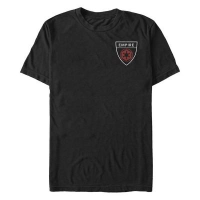 フィフスサン Tシャツ トップス メンズ Star Wars Men's Empire Pocket Badge Short Sleeve T-Shirt Black