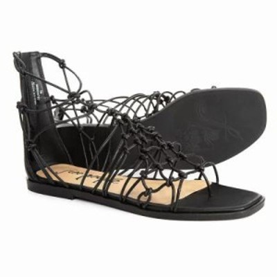 フリーピープル サンダル・ミュール Forget Me Knot Sandals - Leather Black