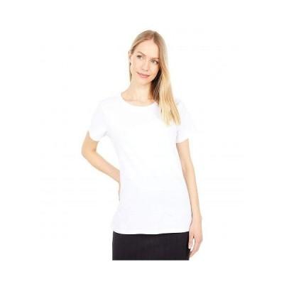 PACT パクト レディース 女性用 ファッション Tシャツ Organic Cotton Midweight Crew Neck Tee - White