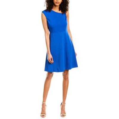 ダナキャラン ワンピース トップス レディース Donna Karan New York A-Line Dress royal