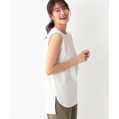 tシャツ Tシャツ シャツテールノースリーブ