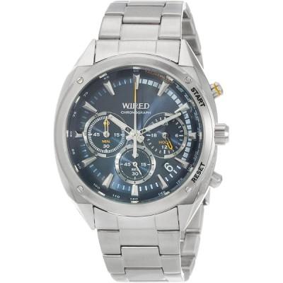 セイコーウォッチ 腕時計 ワイアード SOLIDITY AGAW445 シルバー