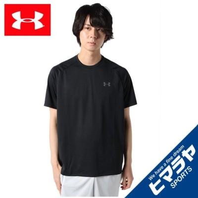 アンダーアーマー Tシャツ 半袖 メンズ UAテック ショートスリーブ Tシャツ 1358553-001 UNDER ARMOUR