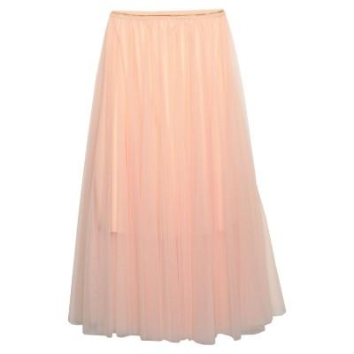 SWEET SECRETS 7分丈スカート あんず色 40 ポリエステル 100% 7分丈スカート