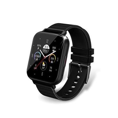 【2021最新】 スマートウォッチ Bluetooth通話 連絡先 1.54インチ 大画面 活動量計 多種類運動モード
