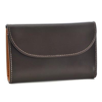 ホワイトハウスコックス/WHITEHOUSE COX 財布 メンズ ブライドルレザー 三つ折り財布 ブラウン マスタード S1112-SC-0006