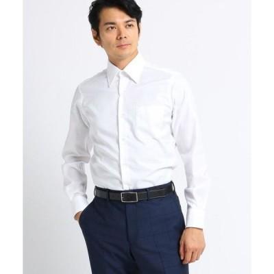 TAKEO KIKUCHI / タケオキクチ 【Sサイズ〜】市松紋柄 ビジネスシャツ