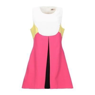 MOLLY BRACKEN ミニワンピース&ドレス フューシャ L ポリアクリル 97% / ポリウレタン 3% ミニワンピース&ドレス
