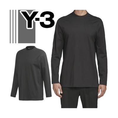 Y-3 ワイスリー ヨウジヤマモト adidas Tシャツ 長袖Tシャツ ロンT エム クラシック チェスト ロゴ ティー メンズ 長袖 ブランド おしゃれ 黒 ブラック