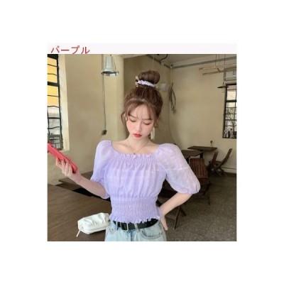 【送料無料】夏 韓国風 スウィート レジャー 何でも似合う 着やせ スクエアネック | 364331_A62855-9734152