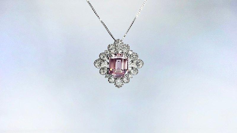 純銀鑽石項鍊【珠寶DIY設計品牌第一】幻境Magical_附禮盒禮袋