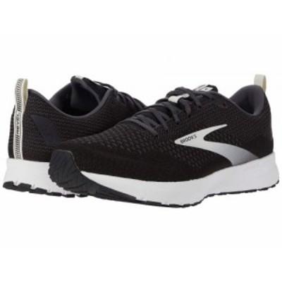 Brooks ブルックス メンズ 男性用 シューズ 靴 スニーカー 運動靴 Revel 4 Black/Oyster/Silver【送料無料】