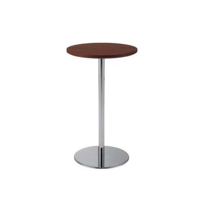 ダイニングテーブル テーブル 机 食卓 オーダーテーブル 丸テーブル ウォールナット突板 木目 マットUV塗装 シンプル レストラン カフェ 飲食店 送料無料
