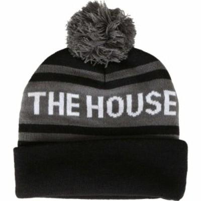 ハウス House メンズ ニット ビーニー 帽子 ball beanie Black/Grey