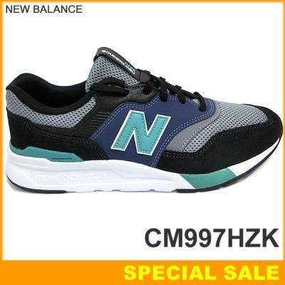 ニューバランス NEW BALANCE スニーカー CM997H ZK D メンズ  BLACK/VERDITE