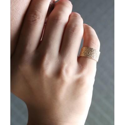 MASSIVE STORE / 【YArKA/ヤーカ】silver925 Crumpled paper pattern ring [kusha2]/くしゃくしゃ紙模様リング シルバー925 MEN アクセサリー > リング
