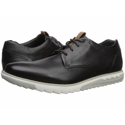 ハッシュパピー オックスフォード シューズ メンズ Expert PT Lace-Up Black Leather