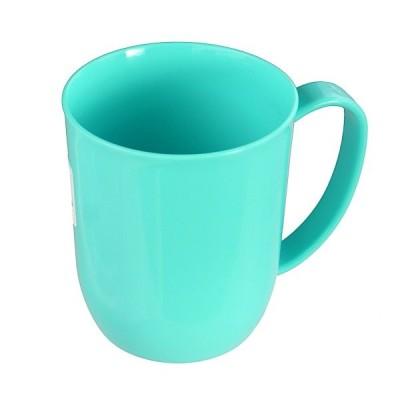 マグカップ グリーン 300ml 電子レンジ対応 カラフルマグ