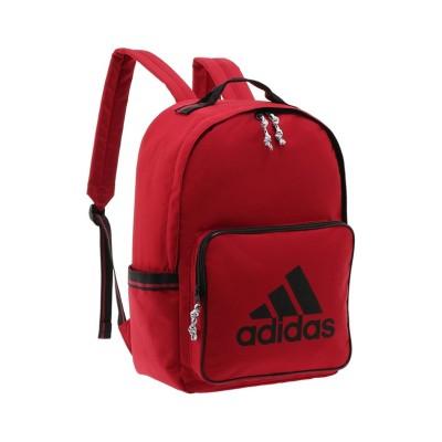 【カバンのセレクション】 アディダス リュック 21L A4 B4ファイル adidas 57586 ユニセックス レッド フリー Bag&Luggage SELECTION