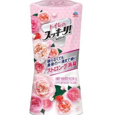 アース製薬 トイレのスッキーリ エアリーホワイトフローラルの香り 400ml