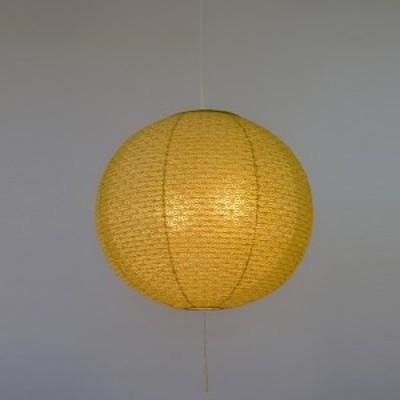 彩光デザイン 和照明 二重提灯 ペンダントライト 2灯 【電球別売】 SPN2-1100-asaha 麻葉萌葱in麻葉白 日本製 和風照明 和紙照明