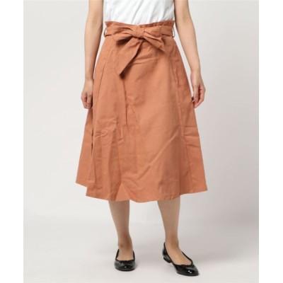 スカート ☆ リボンフレアスカート
