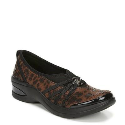 ビジーズ レディース スニーカー シューズ Rosie Leopard Print Slip Ons