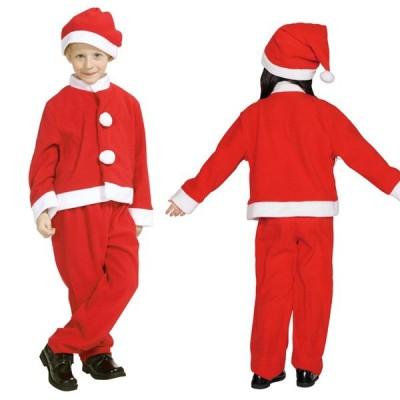 サンタ コスプレ 子供 サンタ 衣装 子供 サンタクロース 衣装 子供 クリスマス コスプレ 子供 キッズサンタスーツ 140