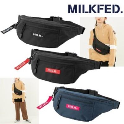 ミルクフェド MILKFED 2way BASIC FANNYPACK 03195061