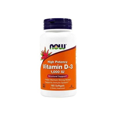 Now Foods Vitamin D3-1000iu Soft-gels 360-Count