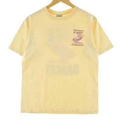 OE プリントTシャツ USA製 レディースL /eaa108437