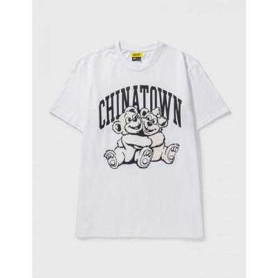 チャイナタウンマーケット Chinatown Market メンズ Tシャツ トップス uv cute t-shirt White