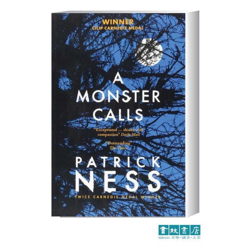 A Monster Calls 《怪物來敲門》青少年英文小說 Patrick Ness