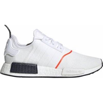 アディダス メンズ スニーカー シューズ adidas Originals Men's NMD_R1 Shoes White/Carbon