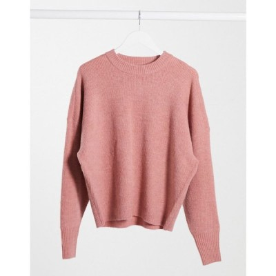ドクターデニム Dr Denim レディース ニット・セーター トップス Lizzy Knitted Jumper In Blush Pink ローズブラシ