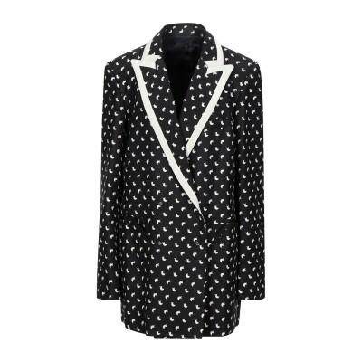BLAZÉ Milano テーラードジャケット ブラック 4 シルク 100% テーラードジャケット