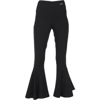 GAëLLE Paris パンツ ブラック 40 ポリエステル 100% パンツ