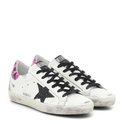 ゴールデン グース Golden Goose レディース スニーカー シューズ・靴 Superstar leather sneakers White Leather/Fuxia Phyton Gli