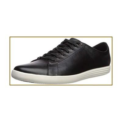 Cole Haan Men's Grand Crosscourt II Sneakers, Black Lthr/White, 9【並行輸入品】