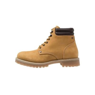 ジャック アンド ジョーンズ ブーツ&レインブーツ メンズ シューズ JFWSTOKE BOOT - Lace-up ankle boots - honey
