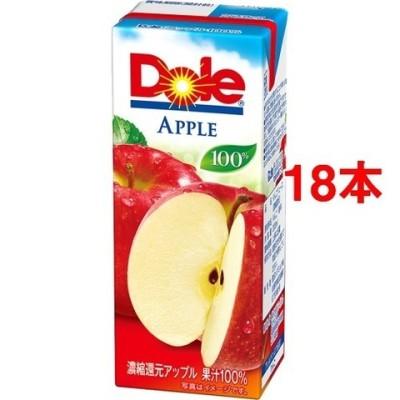 ドール アップル100%ジュース (200ml*18本セット)