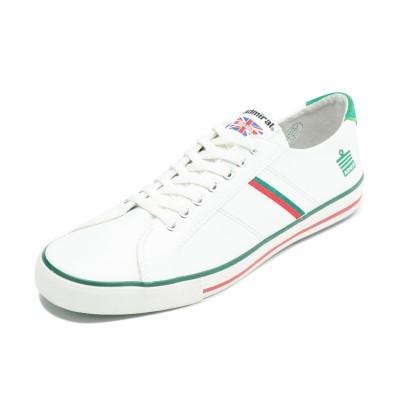 【オンワード】 Admiral Footwear(アドミラルフットウェア) 【WOMEN】【MEN】【人気定番】WATFORD / ワトフォード White/Red/Green UK8(27.0cm) レディース 【送料無料】