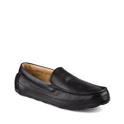 スペリー メンズ スリッポン・ローファー シューズ Top-Sider Men's Hampden Venetian Textured Leather Loafers