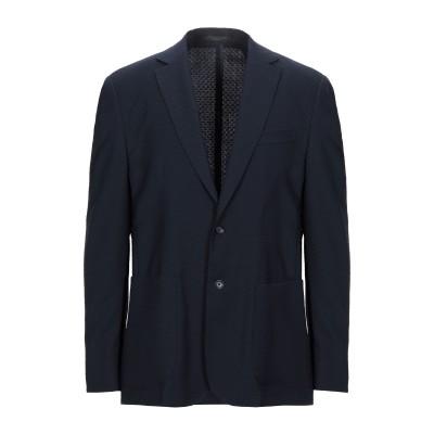 CORNELIANI ID テーラードジャケット ダークブルー 52 バージンウール 100% テーラードジャケット