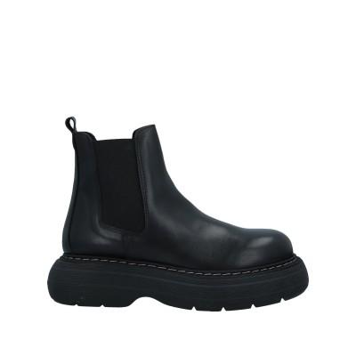 LE PEPITE ショートブーツ ブラック 40 牛革(カーフ) ショートブーツ