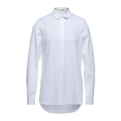 ジル サンダー JIL SANDER シャツ ホワイト 41 コットン 100% シャツ