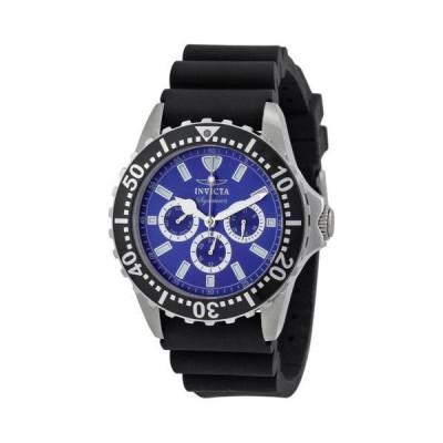 インビクタ シグネイチャ II ダイバーズ マルチ-ファンクション ブルー ダイヤル メンズ 腕時計 7440