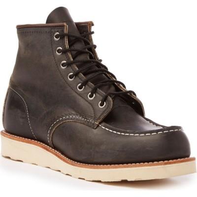 レッドウィング Red Wing メンズ ブーツ シューズ・靴 8890 6-Inch Classic Moc Boots Charcoal Rough/Tough Leather